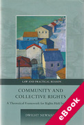 Cover of Community and Collective Rights: A Theoretical Framework for Rights Held by Groups (eBook)
