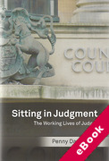 Cover of Sitting in Judgment: The Working Lives of Judges (eBook)