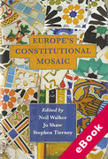 Cover of Europe's Constitutional Mosaic (eBook)