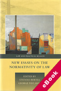 Cover of New Essays on the Normativity of Law (eBook)