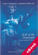 Cover of OLAF at the Crossroads: Action against EU Fraud (eBook)
