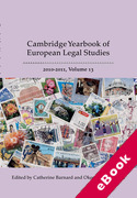 Cover of Cambridge Yearbook of European Legal Studies, Vol 13, 2010-2011 (eBook)