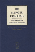 Cover of UK Merger Control