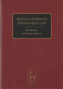Cover of British Overseas Territories Law