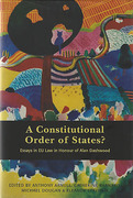 Cover of A Constitutional Order of States? Essays in Honour of Alan Dashwood