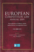 Cover of European Competition Law Annual 2009: The Evaluation of Evidence and its Judicial Review in Competition Cases