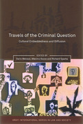 Cover of Travels of the Criminal Question: Cultural Embeddedness and Diffusion