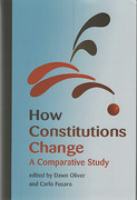 Cover of How Constitutions Change: A Comparative Study
