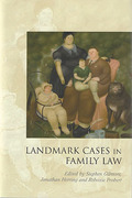Cover of Landmark Cases in Family Law