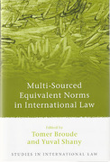 Cover of Multi-Sourced Equivalent Norms in International Law
