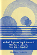 Cover of Methodologies of Legal Research: Which Kind of Method for What Kind of Discipline?