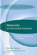 Cover of Networks as Connected Contracts: Edited with an Introduction by Hugh Collins