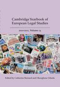 Cover of Cambridge Yearbook of European Legal Studies, Vol 13, 2010-2011