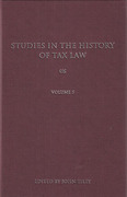 Cover of Studies in the History of Tax Law: Volume 5