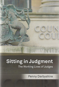 Cover of Sitting in Judgment: The Working Lives of Judges