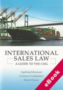Cover of International Sales Law: A Guide to the CISG (eBook)