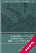 Cover of Empowerment and Disempowerment of the European Citizen (eBook)