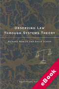 Cover of Observing Law through Systems Theory (eBook)