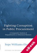 Cover of Fighting Corruption in Public Procurement: A Comparative Analysis of Disqualification or Debarment Measures (eBook)