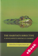 Cover of Habitats Directive: A Developer's Obstacle Course? (eBook)