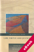Cover of Law, Virtue and Justice (eBook)