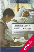 Cover of Informal Carers and Private Law (eBook)