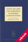 Cover of State Aid and the European Economic Constitution (eBook)