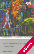 Cover of The Constitution of France: A Contextual Analysis (eBook)