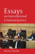 Cover of Essays on International Criminal Justice