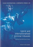 Cover of Hybrid and Internationalised Criminal Tribunals: Selected Jurisdictional Issues