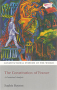 Cover of The Constitution of France: A Contextual Analysis