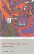 Cover of The Constitution China: A Contextual Analysis
