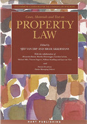 Cover of Cases, Materials and Text on Property Law