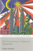 Cover of The Constitution of Malaysia: A Contextual Analysis