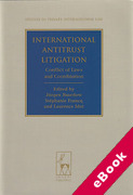 Cover of International Antitrust Litigation: Conflict of Laws and Coordination (eBook)