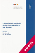 Cover of Constitutional Pluralism in the European Union and Beyond (eBook)
