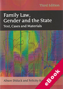 Cover of Family Law, Gender and the State: Text, Cases and Materials 3rd ed (eBook)