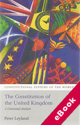 Cover of The Constitution of the United Kingdom: A Contextual Analysis 2nd ed (eBook)