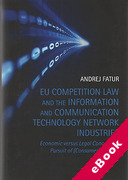 Cover of EU Competition Law and the Information and Communication Technology Network Industries (eBook)