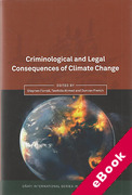 Cover of Criminological and Legal Consequences of Climate Change: (eBook)