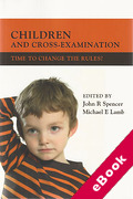 Cover of Children and Cross-Examination: Time to Change the Rules? (eBook)
