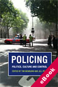 Cover of Policing: Politics, Culture and Control (eBook)
