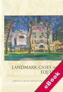 Cover of Landmark Cases in Equity (eBook)