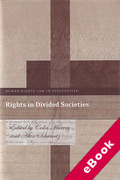 Cover of Rights in Divided Societies (eBook)