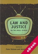 Cover of Law and Justice on the Small Screen (eBook)