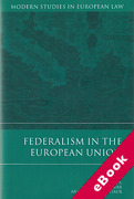 Cover of Federalism in the European Union (eBook)