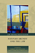 Cover of Hannah Arendt and the Law