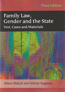 Cover of Family Law, Gender and the State: Text, Cases and Materials 3rd ed