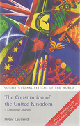 Cover of The Constitution of the United Kingdom: A Contextual Analysis 2nd ed