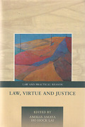 Cover of Law, Virtue and Justice
